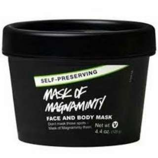 [TAKAL 10g] LUSH Mask of Magnaminty Self-Preserving