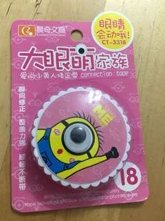 Minion Correction Tape
