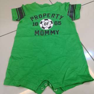Carter's Green Romper (12-18m)
