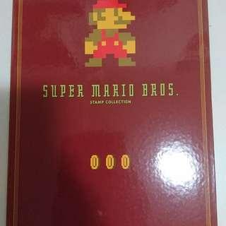 罕有全新Mario 日本郵票