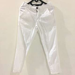 White pants by cotton on