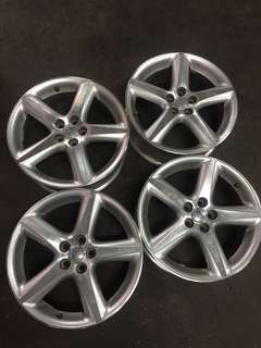 1 set 17 inch rim for Toyota Claudina and Wish