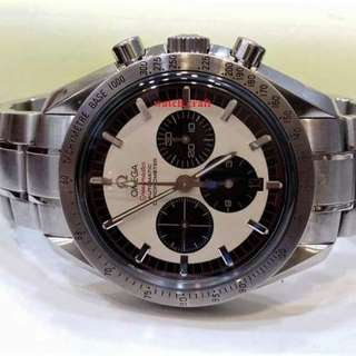 Used Limited Edition Omega Speedmaster Michael Schumacher Legend Panda Dial Automatic Gents 42mm