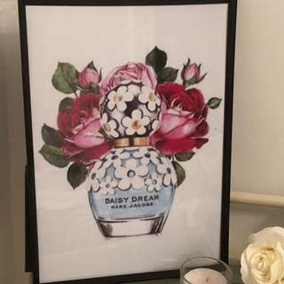 Marc Jacobs Daisy art print