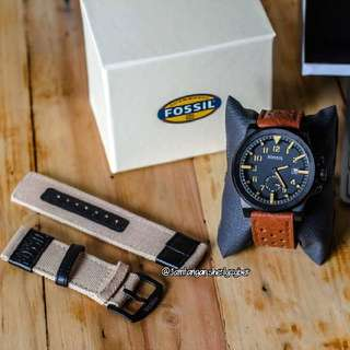 FOSSIL CHRONO DETIK SET
