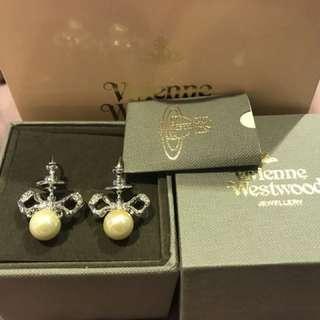 ‼️減價!Westwood 珍珠耳環