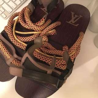 Lv Men 涼鞋,gucci Prada Chanel