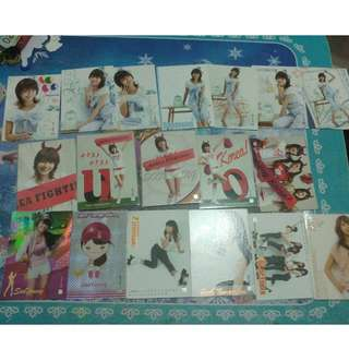 Sooyoung star card set