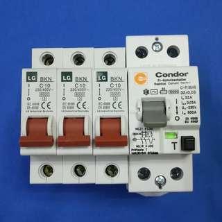 Condor RCD 32A + LG BKN C10 (3 units)