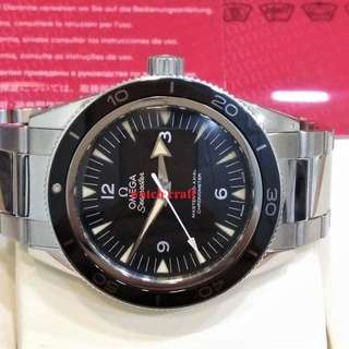 USED EXCELLENT CONDITION OMEGA SEAMASTER 300 MASTER CO-AXIAL AUTOMATIC 41 MM FULL SET