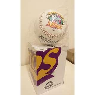 義大犀牛 超大棒球紀念品