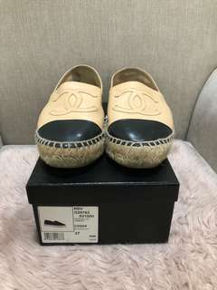 Chanel Patent Espadrille