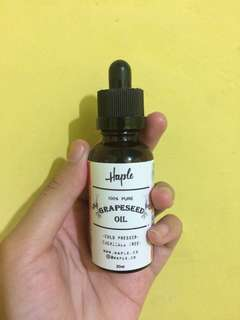 Grapseed oil haple