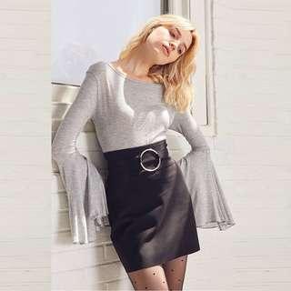 OL high waisted hip skirt