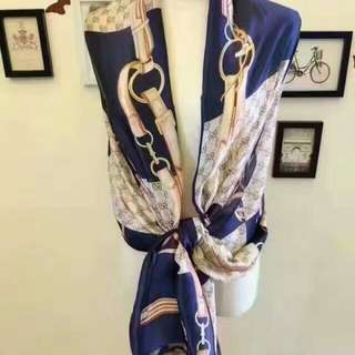 Gucci 🔥Clearance🔥High Grade Silk Scarf Travel Holiday Shawl Business Trip
