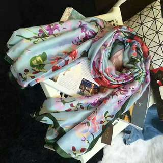 Gucci 🔥Clearance🔥High Grade Silk Scarf Travel Holiday Shawl Business Trip