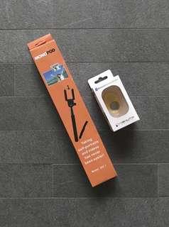 Selfie Stick with Bluetooth Remote Shutter