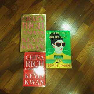 Crazy rich asians trilogy by kevin kwan. Crazy rich asians, china rich girlfriend, rich people problems