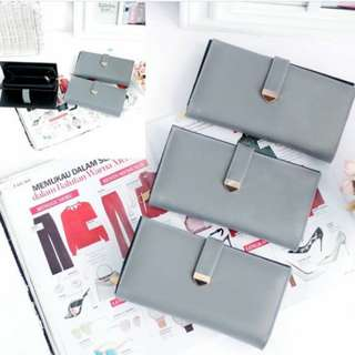 Dompet wallet avi grey
