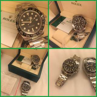 Rolex GMT II Green Hand