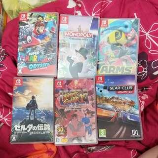 二手switch games