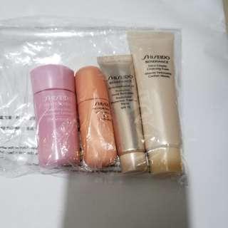 Shiseido White Lucent Sample - 面霜,手霜,精華素,洗頭膏