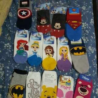 Instock Korean Socks cute superhero