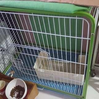 約7成 2層寵物大貓籠/貂籠