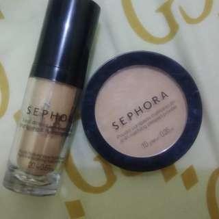 Foundation & Compact powder Sephora