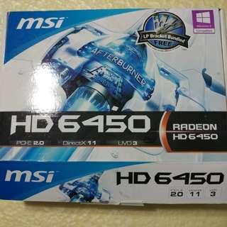 MSI Radeon HD6450