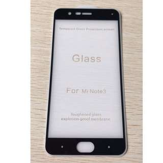 5D Full Adhesive Tempered Glass for Xiaomi Mi Note 3