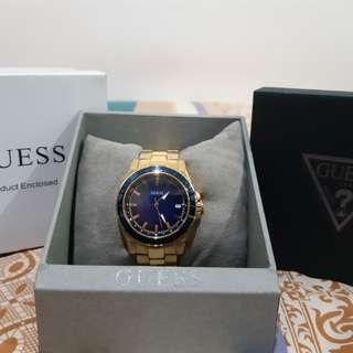 Jam Tangan Guess W0469L2 Rosegold Blue