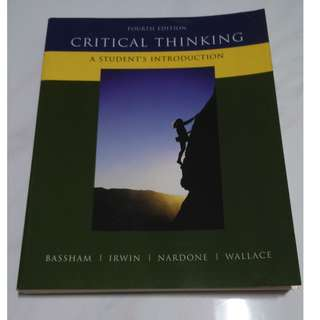[Educational Book] Critical Thinking: A Student's Introduction