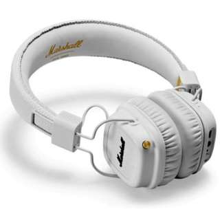 MARSHALL ACCS-10153 MAJOR II BLUETOOTH WHITE With 1 Year Warranty Selling @ S$169