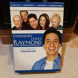 Everybody Loves Raymond Complete Third Season Code 3 DVD boxset