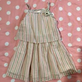 Lilly 4T striped dress