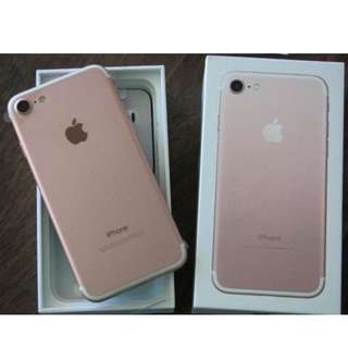 iPhone 7 Rose Gold 128 gb NEGOTIABLE!