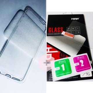 iPhone 優惠保護套裝 (保護貼+軟膠外殼) 包郵