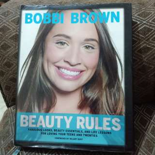 BOBBI BROWN BEAUTY RULES (hardbound)