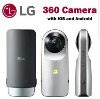 LG 360 Camera with FREE Selfie stick