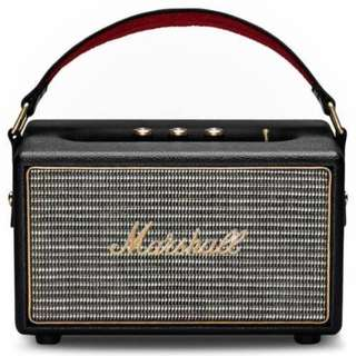 MARSHALL KILBURN PORTABLE SPEAKER, BLACK With 1 Year Warranty