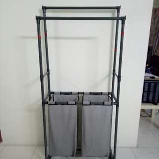 Garment Rack with 2 laundry bag