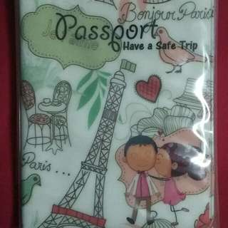 Plastic Passport Cover/Holder