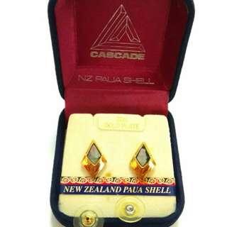 新西蘭鮑魚殼耳環Earrings