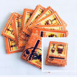 (24 pcs) 1977 China Old Stamps
