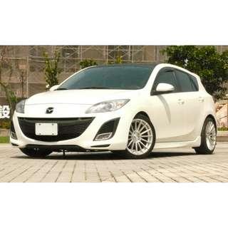 白馬王子降臨 2011年 Mazda3 帥氣改裝 全額貸 輕鬆繳款 牽車無負擔