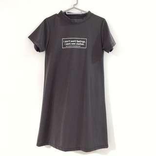 🔴🔴🔴Statement T Shirt Dress