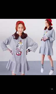 Ladies Plus Size Mickey Mouse t-Shirt Dress