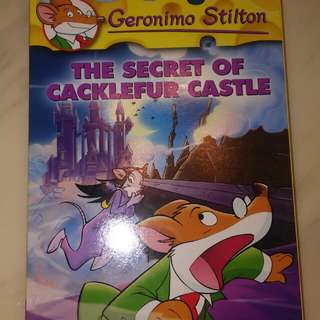 Geronimo stilton(THE SECRET OF CACKLEFUR CASTLE)