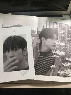 JJ Project <Verse 2> - 珍榮Lyric Card & 內頁